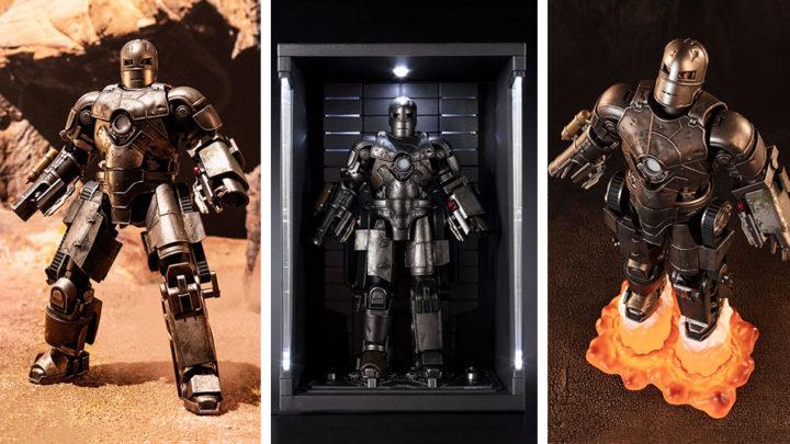 Iron Man Mark 1 -Birth of Iron Man EDITION- S.H.Figuarts di Tamashii Nations