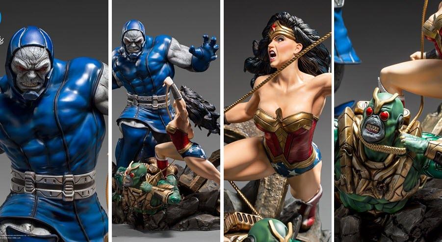 Iron Studios: Wonder Woman Vs Darkseid Diorama 1/6 – DC Comics by Ivan Reis