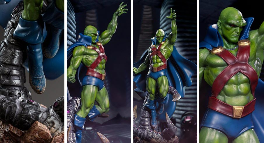 Iron Studios: Martian Manhunter Art Scale 1/10 by Ivan Reis