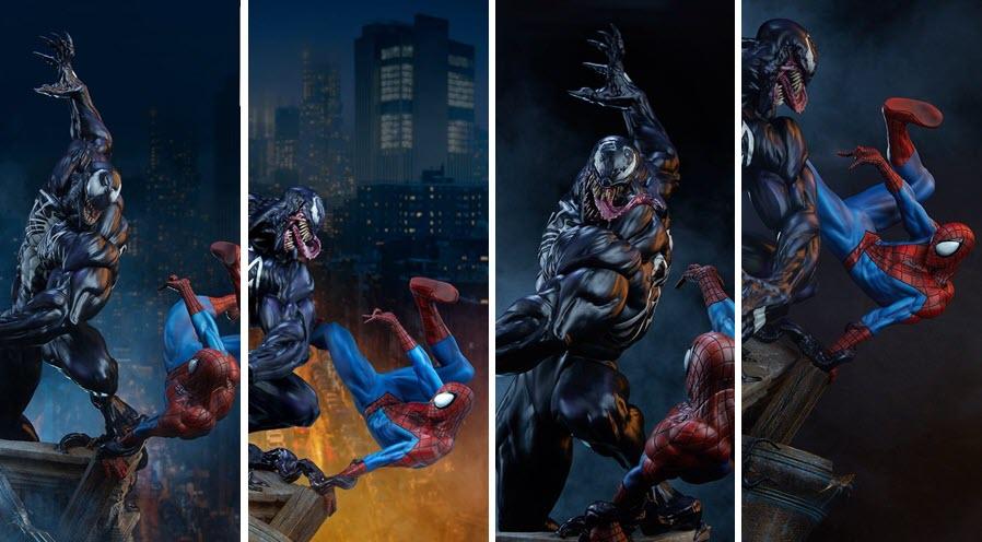Sideshow: Spider-Man vs Venom Maquette