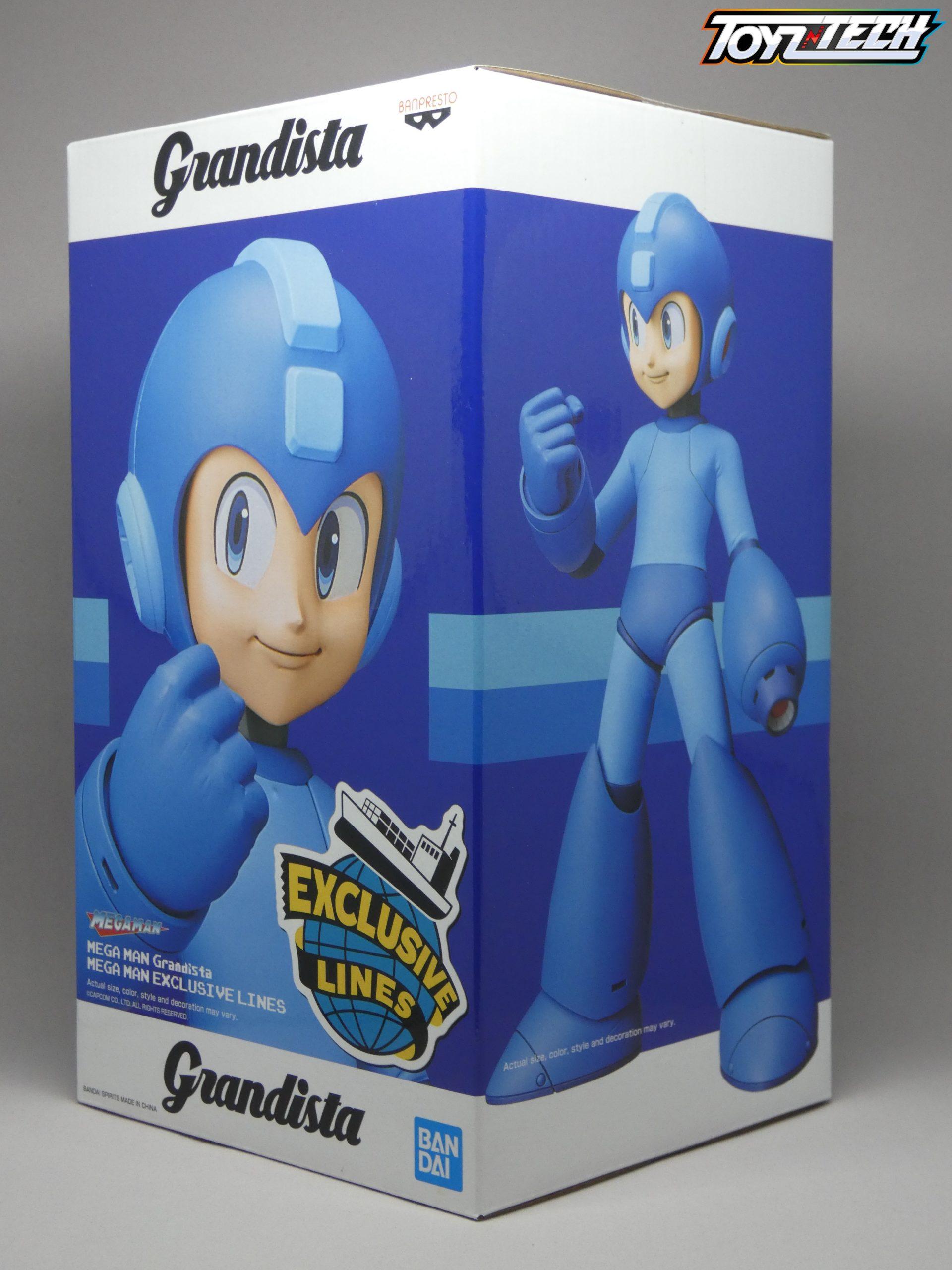 Grandista Exclusive Lines Capcom Banpresto Megaman