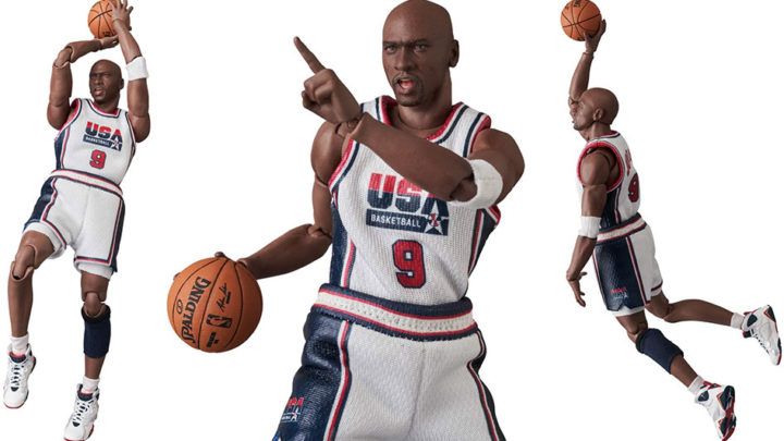Michael Jordan (1992 Team USA) Mafex di Medicom Toy