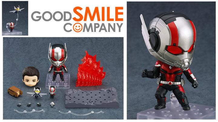 Good Smile Company: Nendoroid Ant-Man Endgame Ver. e Ant-Man Endgame Ver. DX