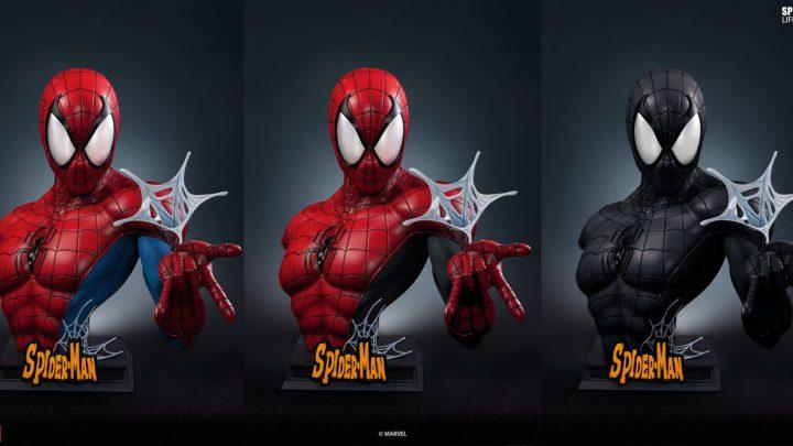 Queen Studios: Spider-Man 1/1 Bust Comic version