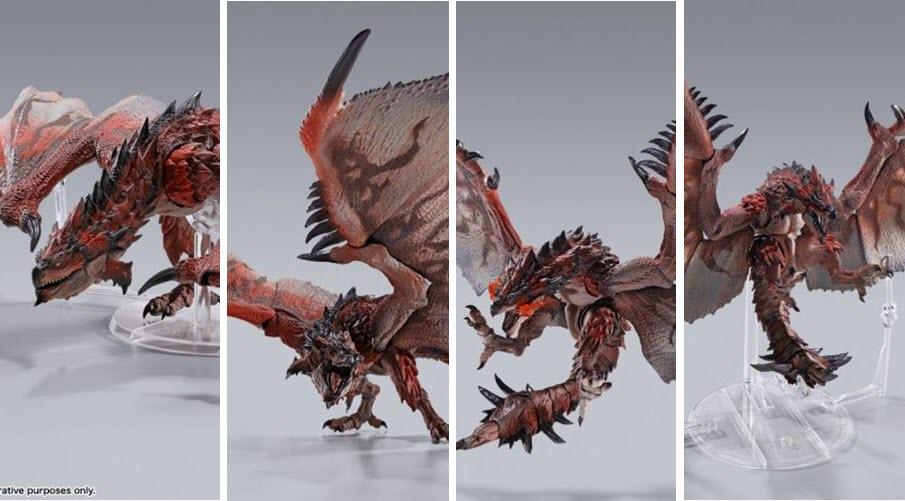 """Tamashii Nations: Rathalos S.H.MonsterArts da """"Monster Hunter"""""""