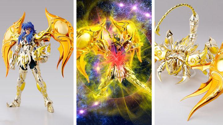 Scorpio Milo Soul of Gold Myth Cloth EX di Tamashii Nations in ristampa