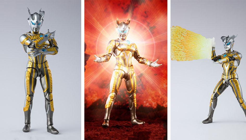 Shining Ultraman Zero S.H.Figuarts di Tamashii Nations