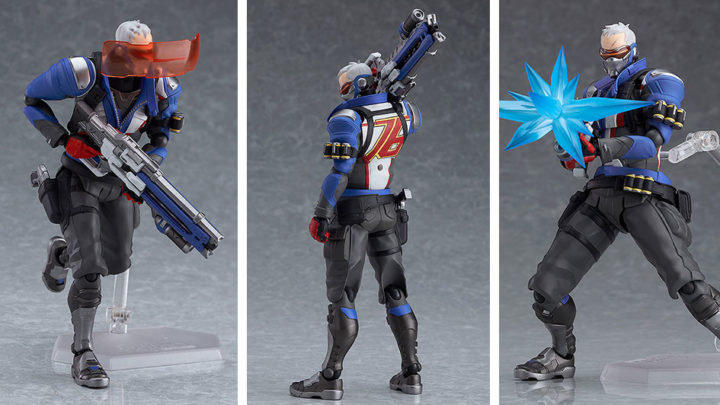 "Soldier: 76 Figma da ""Overwatch"" di Good Smile Company"