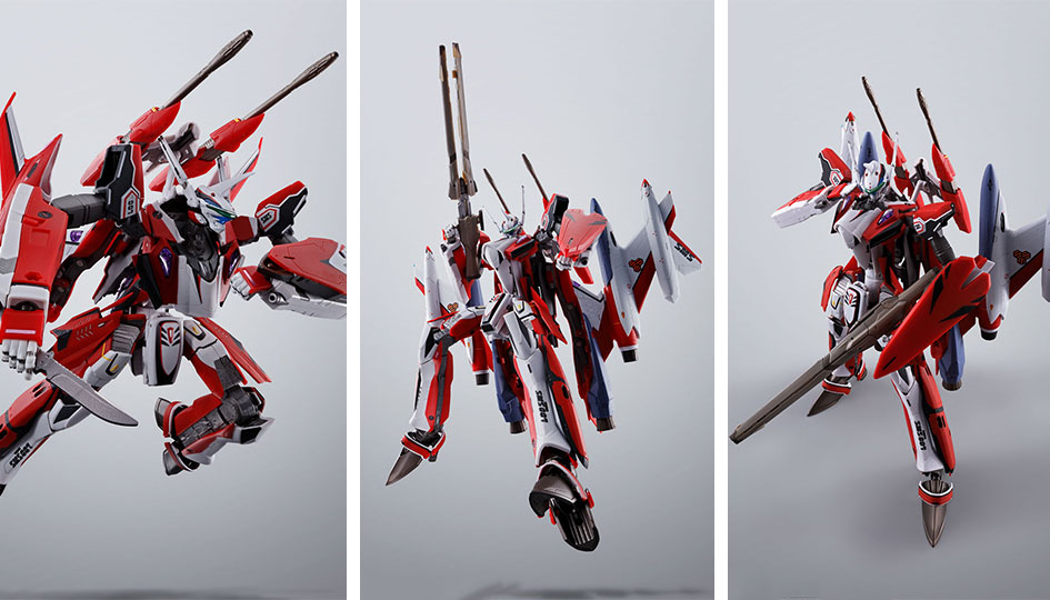YF-29 Durandal Valkyrie Full Set Pack DX Chogokin di Tamashii Nations