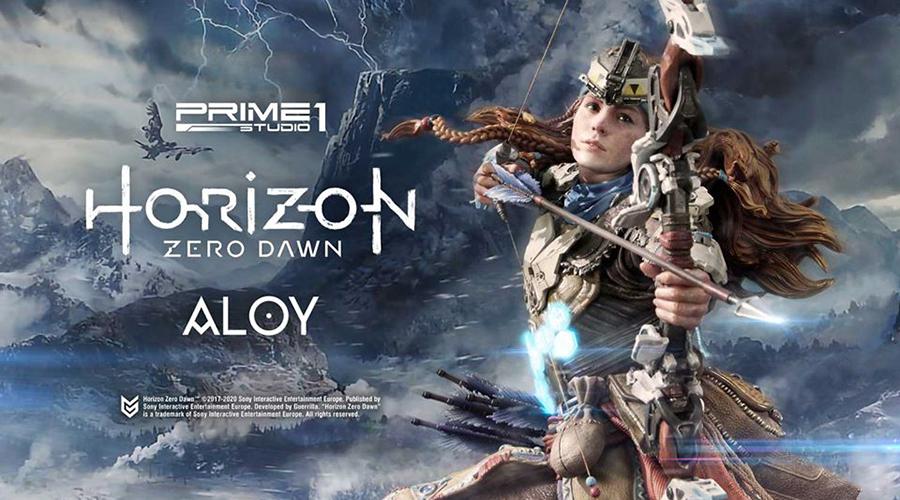 "Prime 1 Studio: Aloy Shield-Weaver Armor Set da ""Horizon Zero Dawn"""