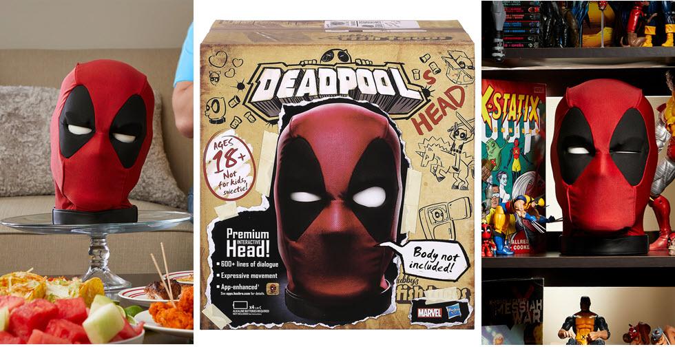 Hasbro Marvel Legends: La testa interattiva di Deadpool