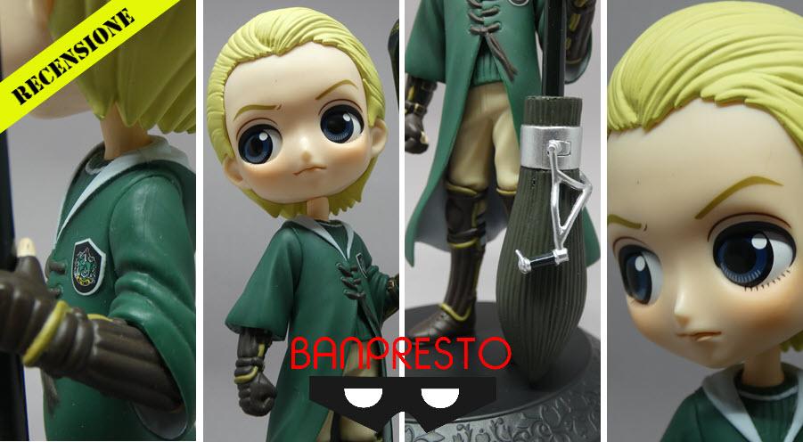 Draco Malfoy Quiddich Style QPosket Banpresto – Recensione