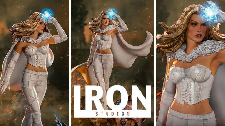 Iron Studios: Emma Frost BDS Art Scale 1/10 – Marvel Comics