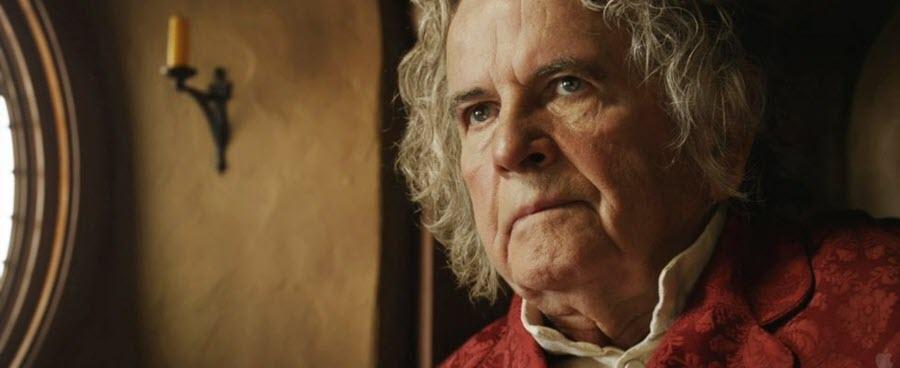 """Ci lascia Ian Holm, Bilbo Baggins del """"Signore degli Anelli"""""""