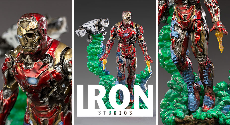 Iron Studios: Iron Man Illusion Deluxe Art Scale 1/10 – Spider-Man: Far From Home