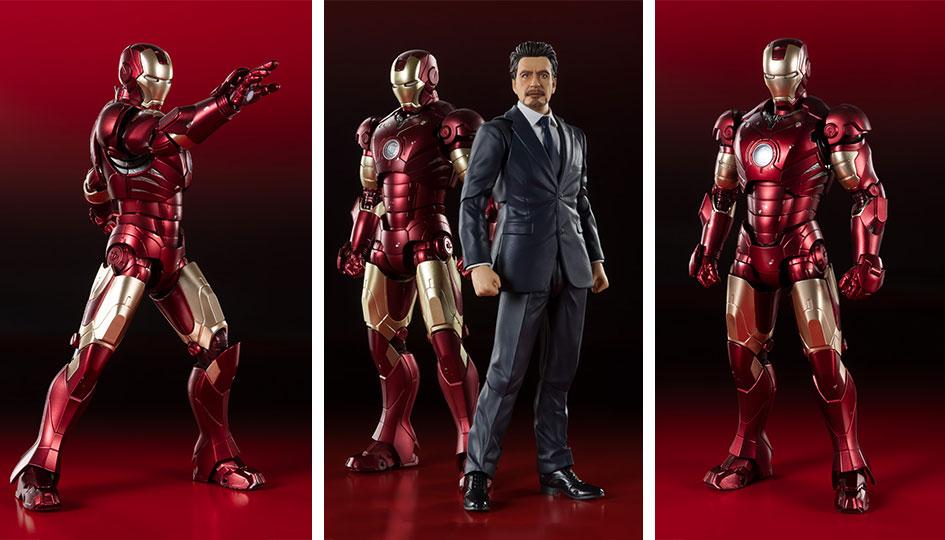 Iron Man Mark 3 -Birth of Iron Man EDITION- S.H.Figuarts di Tamashii Nations