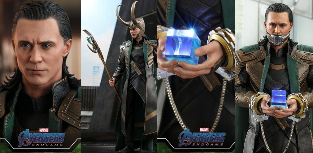 """Hot Toys: Loki da """"Avengers: Endgame"""""""
