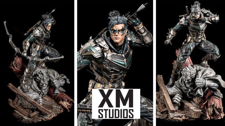 XM Studios: Nightwing – Samurai Series 1/4 Premium Collectibles Statue