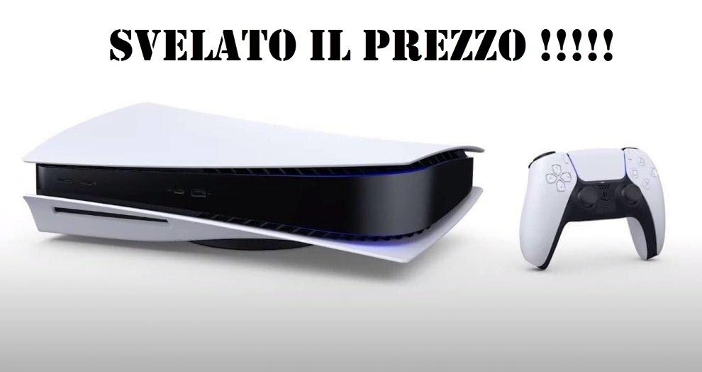 Svelato il prezzo della Playstation 5 (per errore?)