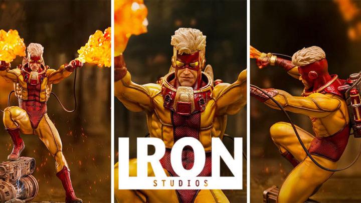 Iron Studios: Pyro BDS Art Scale 1/10 – Marvel Comics