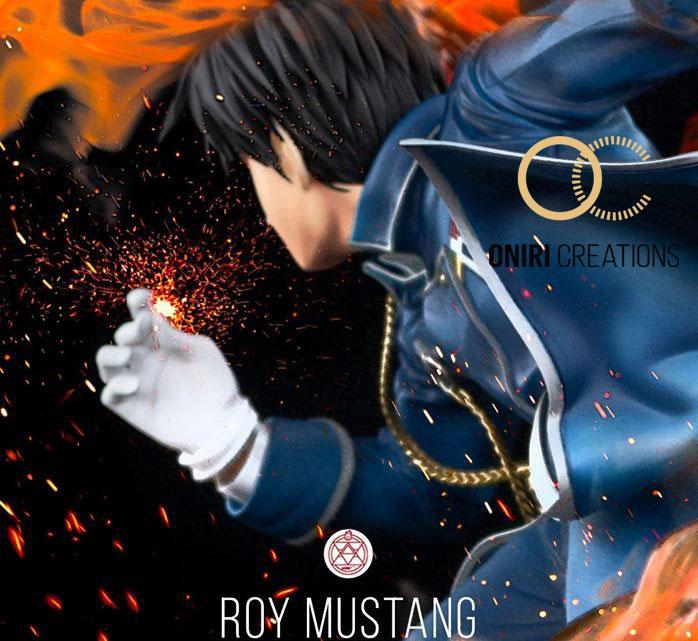 """Oniri Créations: Roy Mustang da """"Fullmetal Alchemist Brotherhood"""" Teaser"""