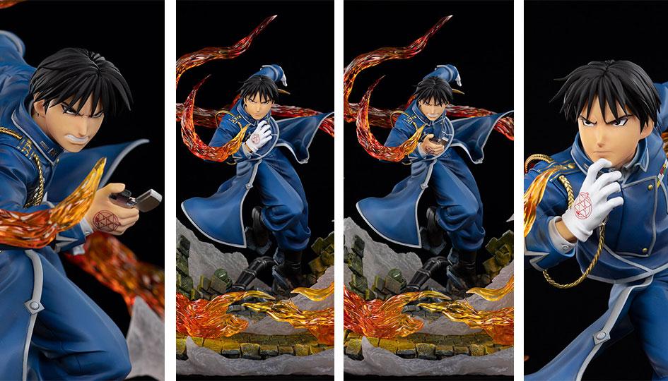 "Oniri Créations: Roy Mustang – The Flame Alchemist da ""Fullmetal Alchemist Brotherhood"""