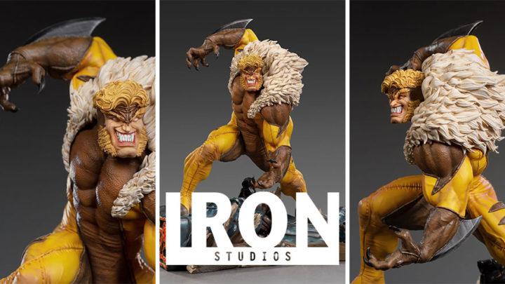 Iron Studios: Sabretooth BDS Art Scale 1/10 – Marvel Comics