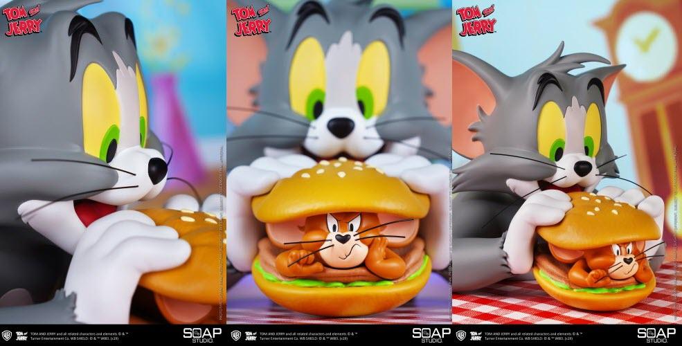 "Soap Studio presenta un busto di Tom & Jerry – ""Jerry Burger"""