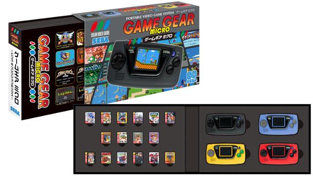 """SEGA annuncia il """"nuovo"""" Game Gear Micro in 4 colori diversi"""