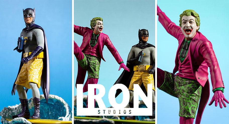 Iron Studios: Batman & The Joker Deluxe BDS Art Scale 1/10 – Batman 66