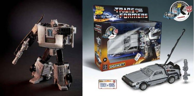 Hasbro: la DeLorean di Ritorno al Futuro in versione  Transformers