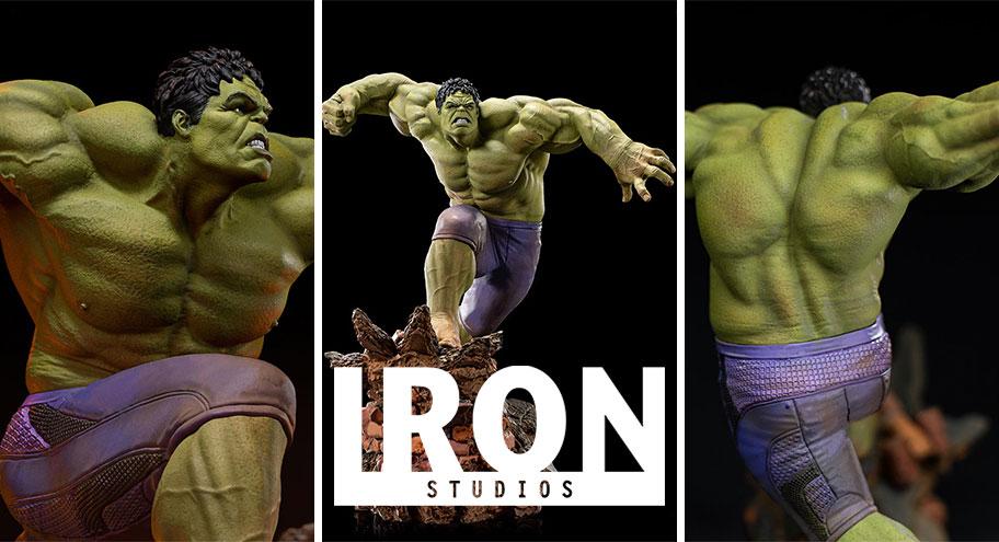 Iron Studios: Hulk BDS Art Scale 1/10 – Avengers: Age of Ultron