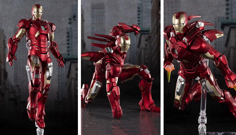 Iron Man Mark 7 -AVENGERS ASSEMBLE EDITION- (The Avengers) S.H.Figuarts di Tamashii Nations