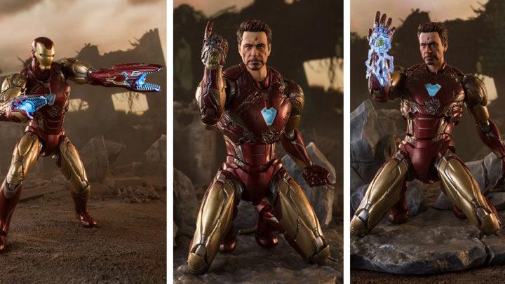 Iron Man Mark 85 -I AM IRON MAN EDITION- (Avengers: Endgame) S.H.Figuarts di Tamashii Nations