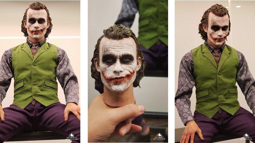 Queen Studios: The Joker 1:3 (Sculpted hair)
