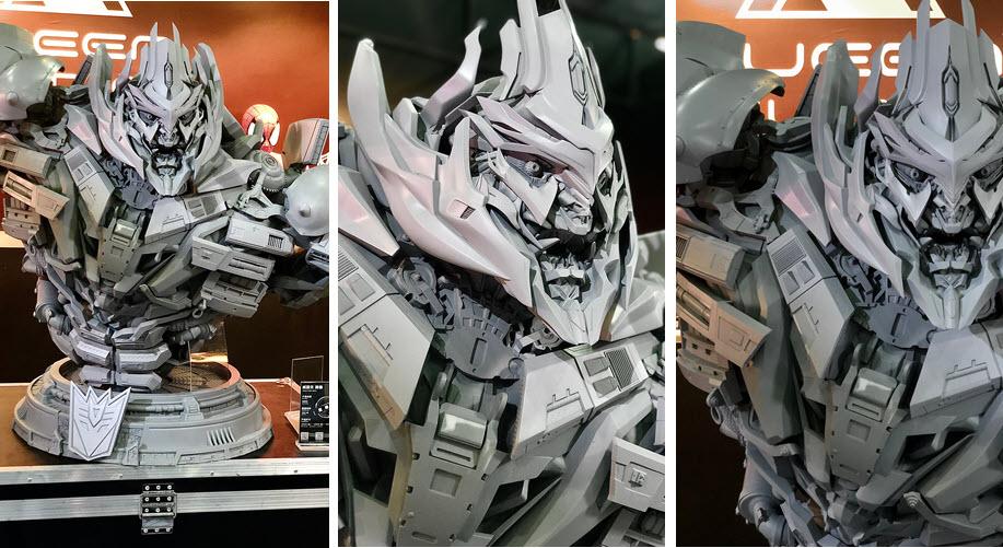 Il busto di Megatron dalla Queen Studios