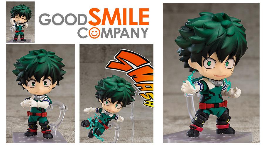 Good Smile Company: Nendoroid Izuku Midoriya Costume γ