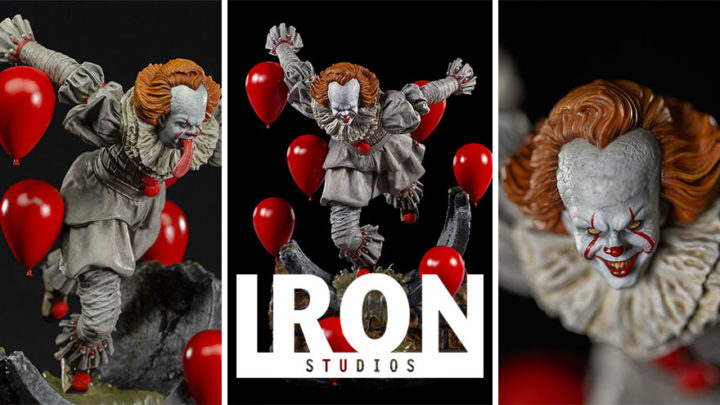Iron Studios: Pennywise Deluxe Art Scale 1/10 – IT Chapter Two