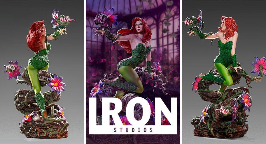 Iron Studios: Poison Ivy Deluxe Art Scale 1/10 – DC Comics by Ivan Reis Series #5