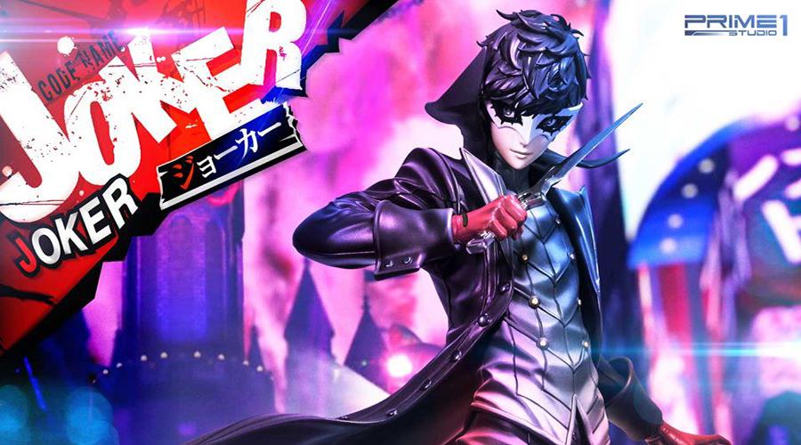 "Prime 1 Studio: Protagonist Joker da ""Persona 5"""