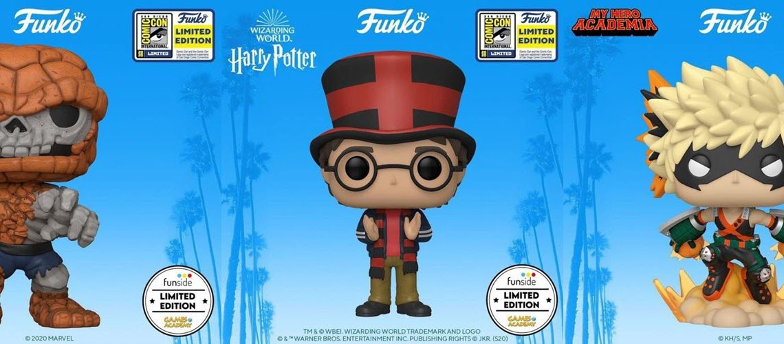 Funko POP! Limited Edition SDCC 2020