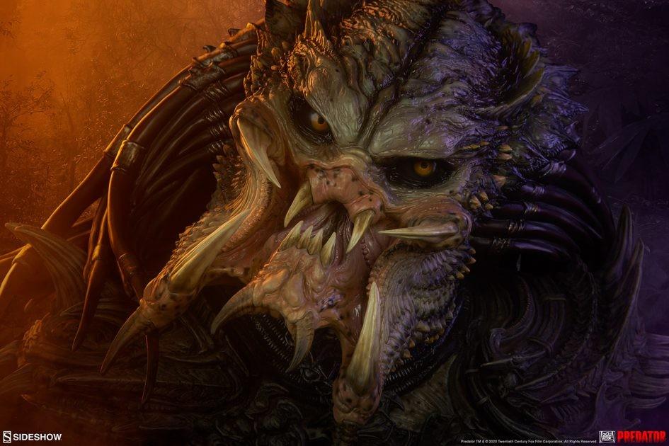 Sideshow: Predator Barbarian Mythos Bust
