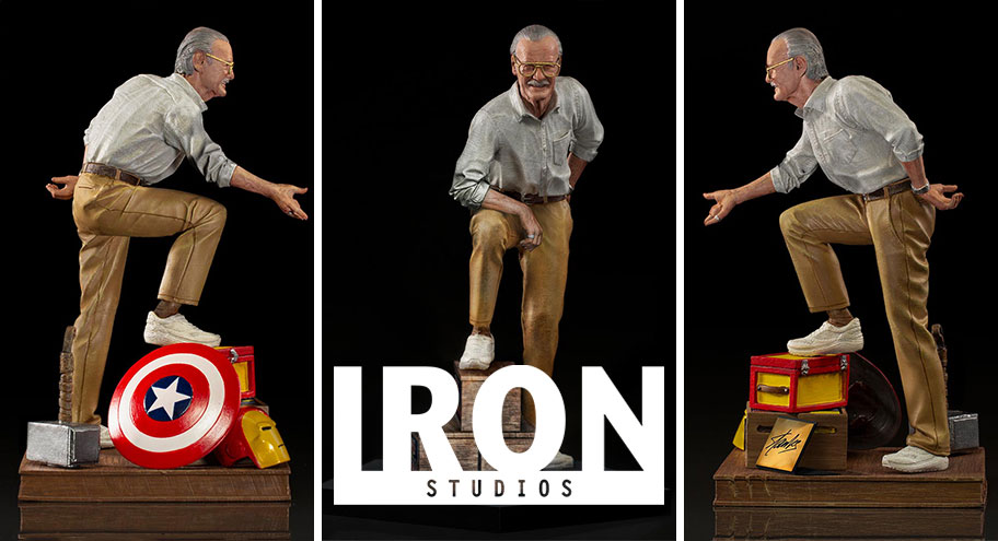 Iron Studios: Stan Lee Art Scale e Deluxe Art Scale 1/10