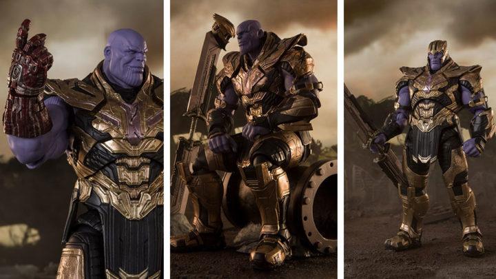 Thanos -FINAL BATTLE EDITION- (Avengers: Endgame) S.H.Figuarts di Tamashii Nations