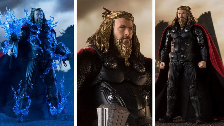 Thor -FINAL BATTLE EDITION- (Avengers: Endgame) S.H.Figuarts di Tamashii Nations