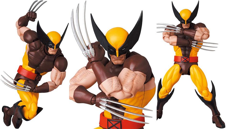 Wolverine (Brown Comic Ver.) Mafex di Medicom Toy