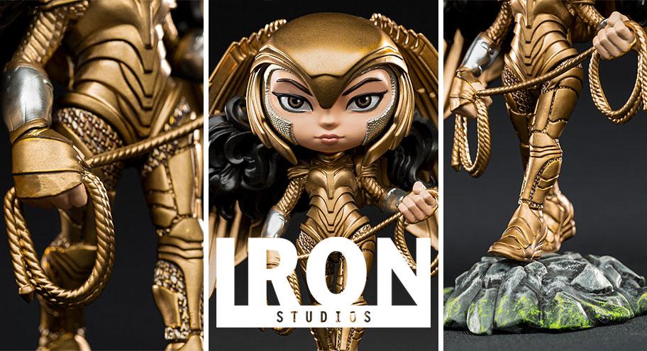Iron Studios: Wonder Woman Armored Version – WW84 – Minico