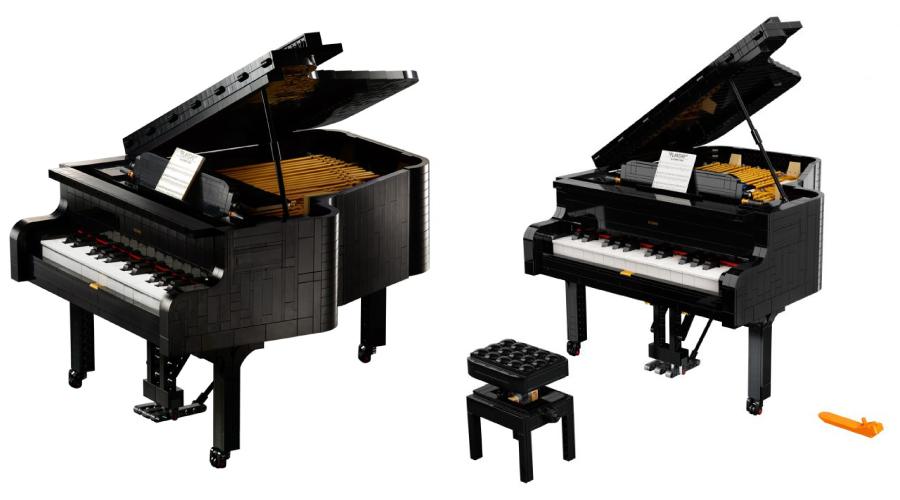 Lego Ideas: Grand Piano