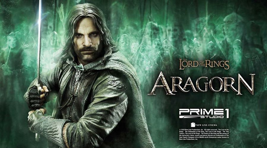 "Prime 1 Studio: Aragorn da ""The Lord of the Rings"""