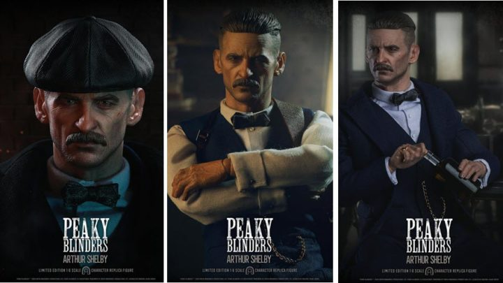 Peaky Blinders: Arthur Shelby 1/6 da Big Chief Studios